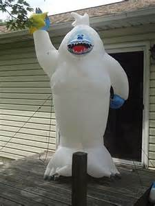 gemmy airblown 8ft bumble abominable snowman