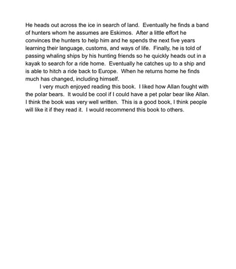 exles of book reports for 5th graders book report exle mr thatcher s 5th grade