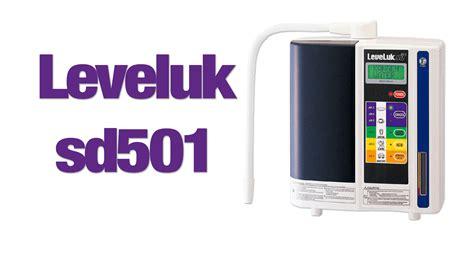 Sd501 Kangen Water enagic leveluk sd501 review