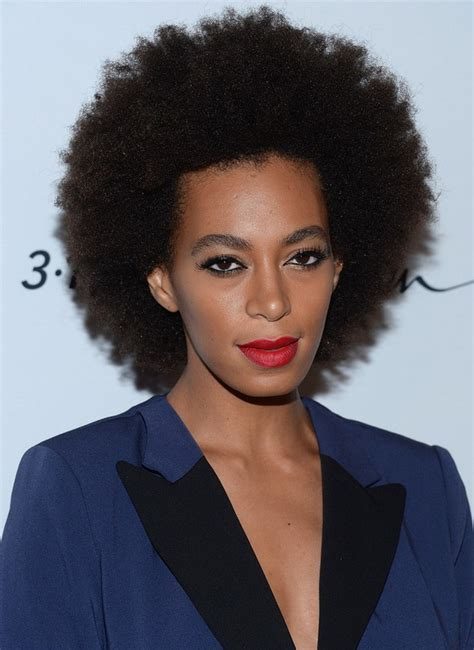 hairstyles afro 2015 solange knowles afro hairstyle 2015 styles weekly