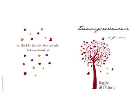 Hochzeitseinladung Lebensbaum by Kirchenhefte Lebensbaum