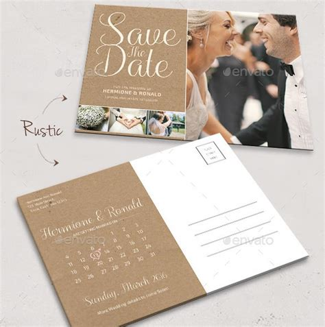 15 Gorgeous Save The Date Templates Design Shack Save The Date Postcard Template