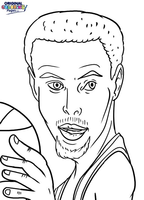 free curry coloring pages stephen curry coloring page coloring pages original