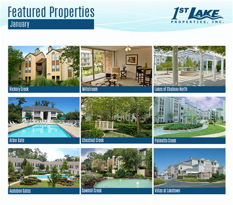 Apartment Specials New Orleans 1st Lake Featured Apartments