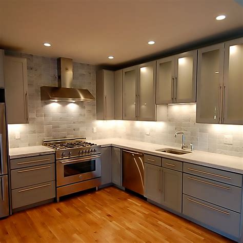 Types Of Kitchen Lighting Types Of Cabinet Kitchen Lighting Different Styles Of Light Rails For Kitchen Cabinets Types