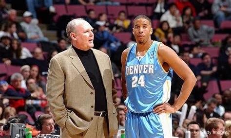 mark jackson guard nba hoops card nba playoffs andre miller puts nuggets loss on george karl