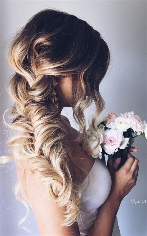 Wedding Hairstyles Pulled To The Side by Best 25 Wedding Hairstyles Side Ideas On