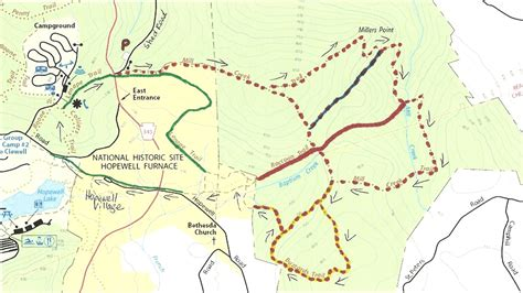 creek state park trail map hikin creek state park pa and hopewell