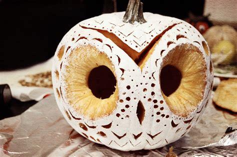 our little burrow my very 1st diy decorative owl pumpkin