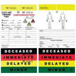triage tag each