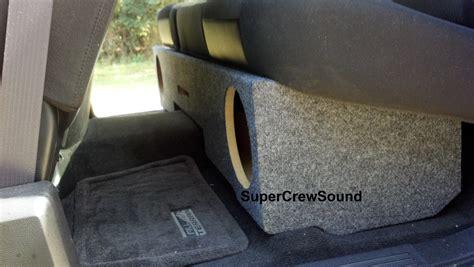 seat subwoofer box 2015 silverado custom speaker box 2015 silverado cab 12 inch