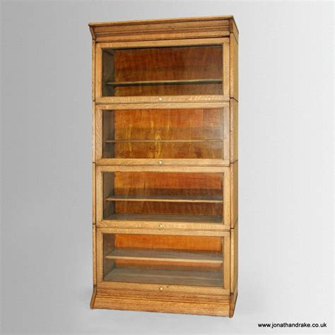 antique stacking bookcase by gunn co antiques co uk