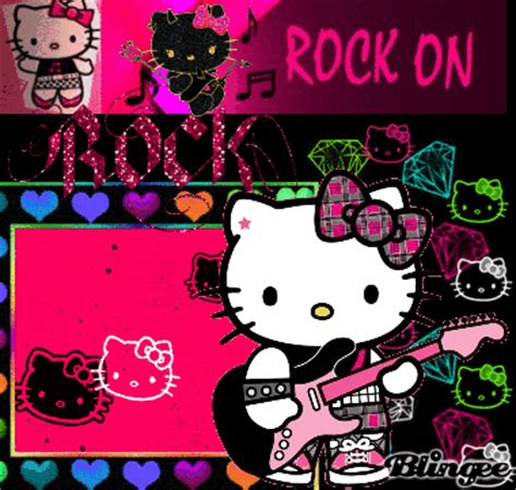 hello kitty rock wallpaper hello kitty rock picture 125813137 blingee com