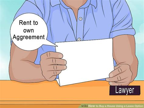 lease with option to buy house how to buy a house using a lease option with pictures wikihow