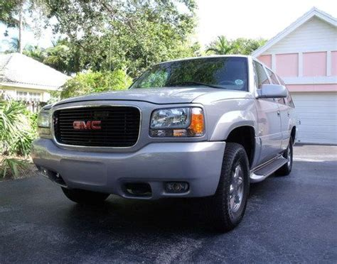 how to learn about cars 1999 gmc yukon on board diagnostic system buy used 1999 gmc yukon denali luxury 4wd suv one owner great condition 38 pics in miami