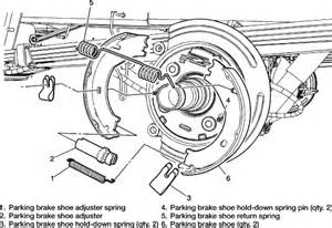 Service Brake System On 2004 Chevy Avalanche Repair Guides Parking Brake Parking Brake Shoes
