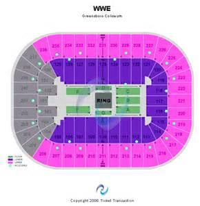 Greensboro Coliseum Floor Plan by Cheap Greensboro Coliseum Tickets