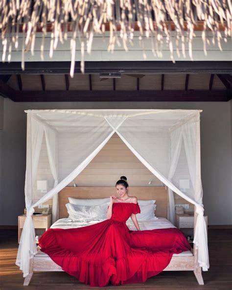 Tempat Tidur Nikah mengintip gaya liburan sosialita kaya chua di