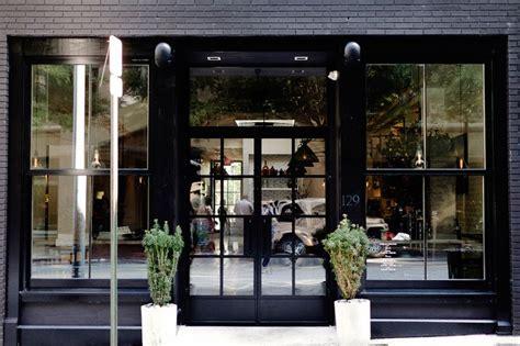 Front Door Store All Black Store Front Window Display