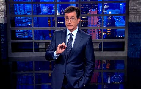 the late show are colbert s new politics softer or just more subtle the nation