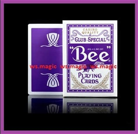 Wynn Gift Card - ws magic bee wynn purple playing cards deck limited edition rare new