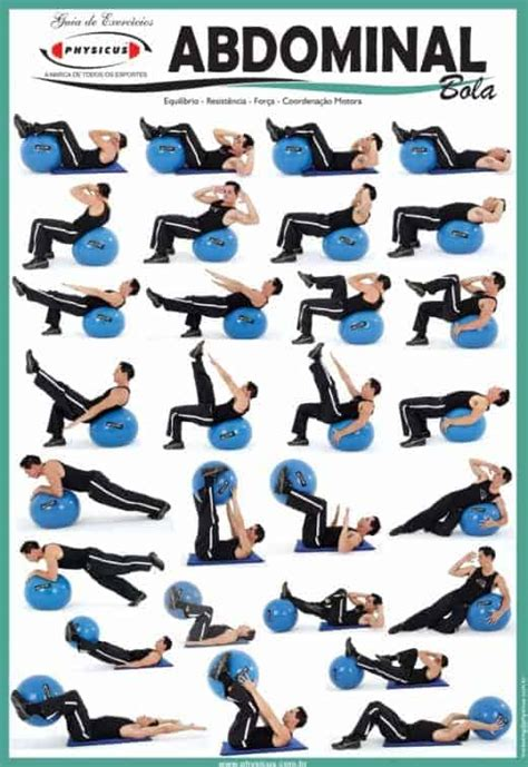 stability ball ab exercises  build strong core  home