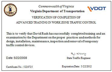 work zone traffic control training fhwa work zone