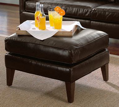 arlington ottoman arlington leather ottoman betterimprovement com