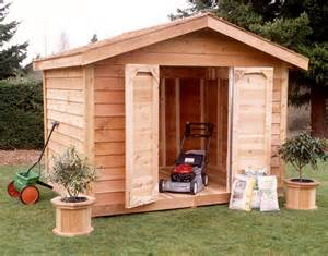 lumber 10x8 shed kit cedar bevel siding ys108s on