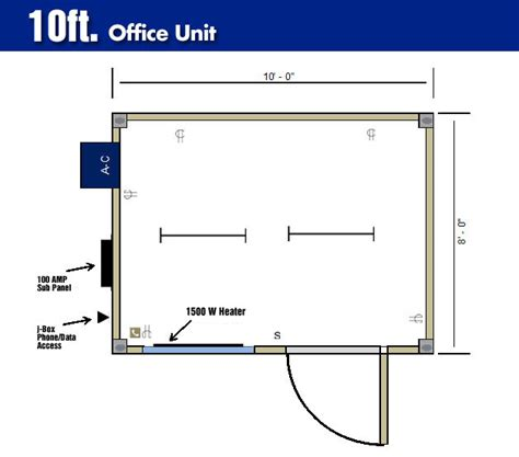 office floor plan sles portable shipping container offices storstac