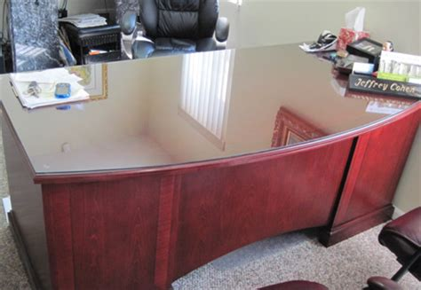 office desk table tops glass shelves glass table top install and repair in new