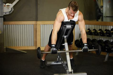 bench pull incline bench pull exercise guide and video