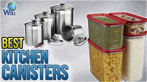 10 best kitchen canisters 2018