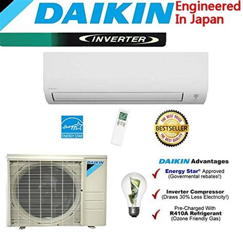 Ac Japan Quality daikin 18 000 btu 24 5 seer ductless mini split air