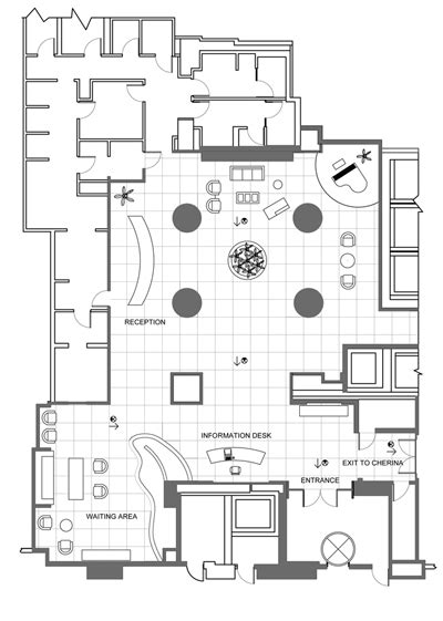 hotel lobby floor plan park hyatt chicago by goeun kim at coroflot com