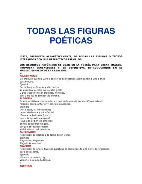 imagenes literarias poeticas todas las figuras po 233 ticas