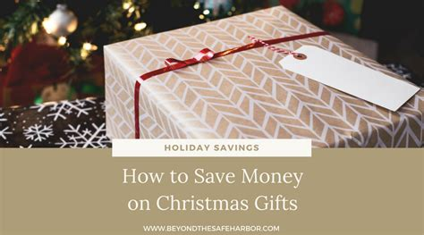 holiday savings how to save money on christmas gifts