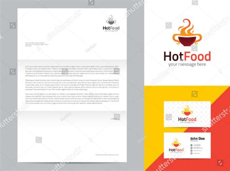 restaurant letterhead templates free gallery of american diner restaurant business card