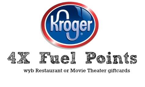 Kroger Gift Card 4x Fuel Points 2015 - kroger 4x fuel points on gift cards southern savers
