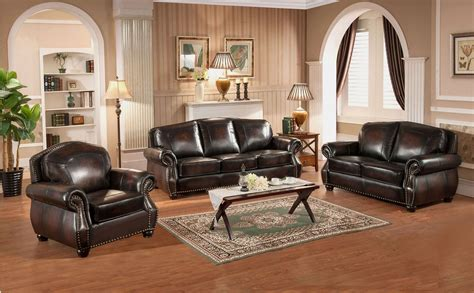 brown leather living room sets hyde brown leather living room set c9701s2889ls amax leather