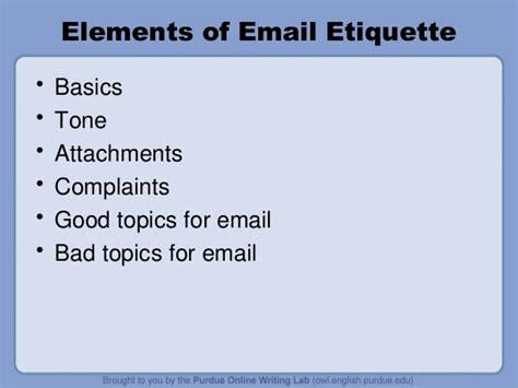 email ethics email etiquette