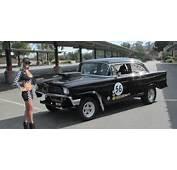 1956 CHEVY BEL AIR HOT ROD  Street/Strip Gasser Drag Race Car 56