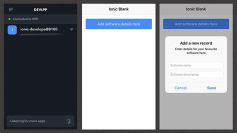 ionic tutorial resources testing ionic framework mobile builds with ionic devapp