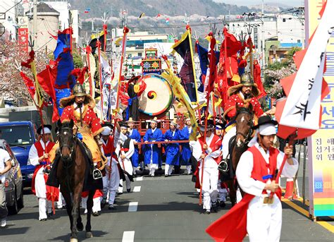 festival korea jinhae gunhangje to become global festival changwon