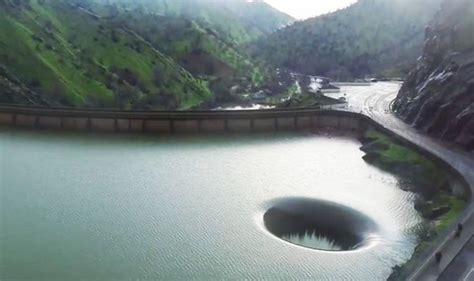 lake berryessa spillway viral video shows water overflowing in lake berryessa