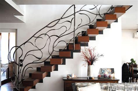 ringhiera in ferro battuto per scale interne tessaro ringhiere per scale interne
