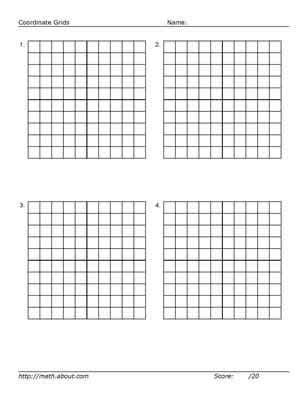 printable mini graphs practice your graphing with these printables math