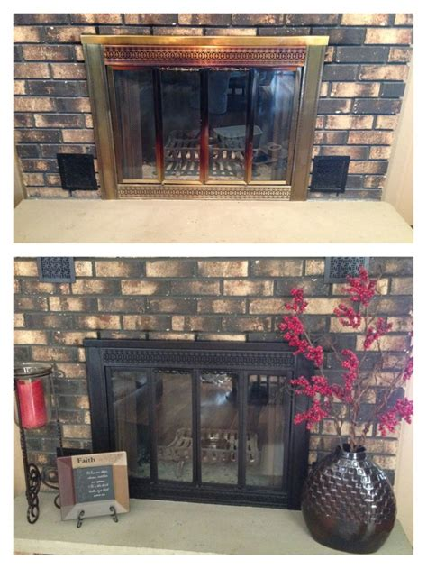 rustoleum fireplace paint 17 best ideas about black fireplace mantels on fireplace tv wall small electric