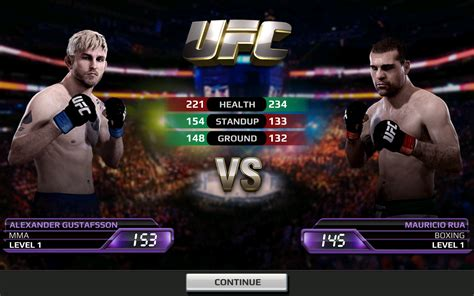 game android ufc mod ea sports releases graphically impressive ufc game for