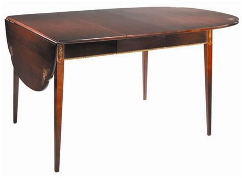 Hitchcock Table by Cloverleaf Extension Table Tables 6780 The Hitchcock